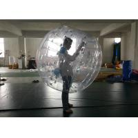 Football Game Inflatable Human Ball , Bumper Bubble Ball Lead Free Materials