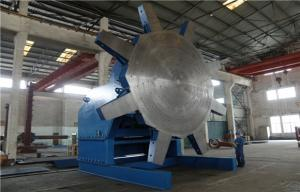 China Industry Pipeline Rotary Elbow Welding Positioner Turntable With Panasonic Japan VFD Spee d Control on sale