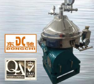 China Dongchi DHZ series Disc Separator ISO9001 qualified fermentation liquid clarification disc separator on sale
