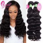 7A Mink Hair Extensions Wet And Wavy Human Hair 10 Inch - 30 Inch Length