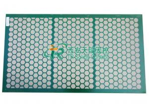 China Steel Frame Shale Shaker Screen 2-3 Layers For Swaco Shale Shaker on sale