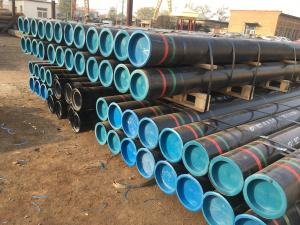 China API 5CT Seamless Steel Casing Pipe without couplings on sale