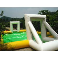 High Elastic Mini inflatable Sports Games Inflatable Water Soccer Field For Kids Playing Football Games