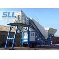 Professional Mobile Concrete Batching Plant Mobile Batch Plant Concrete With JS500 Mixer