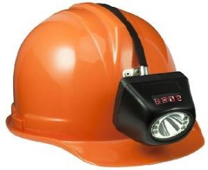 China Super Brightness Industrial Lighting Fixture , Cree Coal Miners Helmet Light >120 Lumens on sale