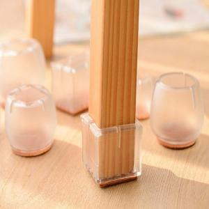 China plastic silicone anti-noise furniture feet protector table chair leg caps on sale
