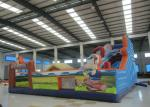 Colourful Digital Printing Toddler Bounce House , Geological Park Bounce Round Bounce House