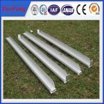 perfil de alumínio industrial personalizado, perfil de alumínio do quadro de painel solar, OEM