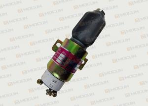 China CAT 320C / S6K Excavator Solenoid Valve 24V 3864274 / Diesel Stop Solenoid on sale