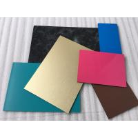 China Spectra Blue Aluminium Interior Wall Panels Anti - Dust With High Impact Resistance on sale