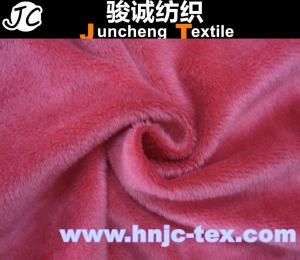 China 100% Polyester Warp Knit Super Soft Micro Velboa for Car Mat/ sofa upholstery /bedding on sale