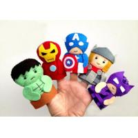 Marvel Comic The Avergers Collecttion Felt Finger Puppet Plush Toys
