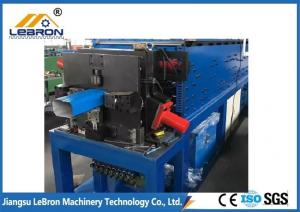 China Color Steel downspout and elbow  metal downspout roll forming machine in high quality on sale