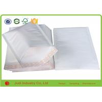 China White Color Heart - Shaped Bubble Wrap Bags Inflatable 30 X 30 Cm For Packaging on sale