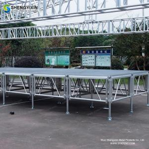 China Modular portable intelligent smart riser  Heavy duty aluminum modular outdoor concert stage for sale on sale