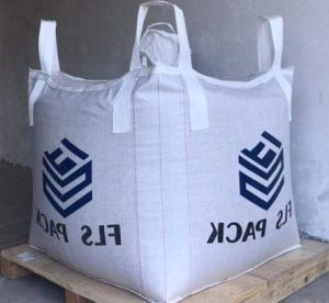 China 100% Virgin Polypropylene FIBC Bulk Bags 1 Ton , Empty Jumbo Bags U - Panel Shape on sale
