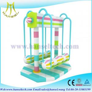 China Hansel hot selling children indoor playarea used playhouses for kids on sale