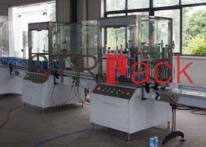 China Automatic aerosol spray paint filling machine , aerosol filling equipment 15 - 750ml on sale