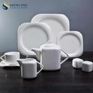 China Ceramic Tableware Western Style Unbreakable and Brilliant Dinnerware Set on sale