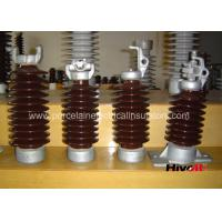 China Vertical Porcelain Electrical Insulators , Post Type Insulator Easy Maintenance on sale