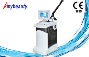 China Anybeauty 10600nm vertical Co2 Fractional Laser machine for acne scar treatment and vaginal tighten on sale
