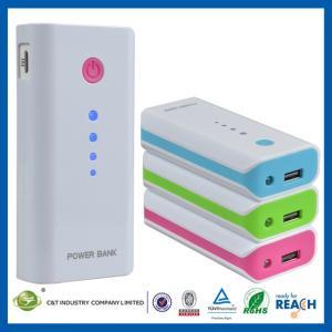 China Laptop / iPad Portable Power Banks , 5600mAh USB Iphone / Samsung / HTC Slim Power Bank on sale