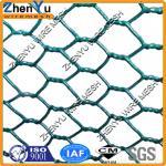 le PVC de plastique a enduit le grillage hexagonal galvanisé de poulet de fil à faible teneur en carbone (usine, plus bas prix)