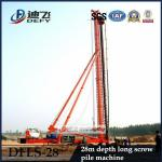 High Quality 28m Depth DFLS-28 Hydraulic Rotary Piling Rigs for Sale