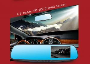 China Dual lens Car Camera Android Car DVR with Full HD 1080P 4.3 inch Display Screen on sale
