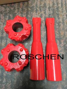 China Pilot Adaptor R32 Reaming Bit 65mm For Quarrying Drilling Coal Mining on sale
