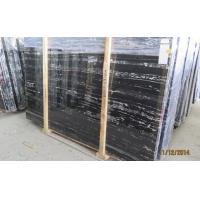 A Grade Polished Top Quality Silver Dragon Marble,Black Marble,Cheapest Marble from China