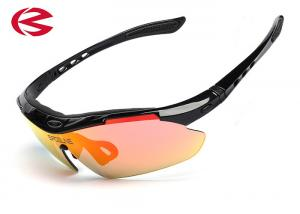 China Interchangeable Arms And Lenses Bike Sun Glasses UV400Optical Sport Glasses on sale