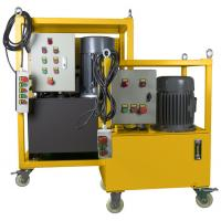 Hydraulic Driven Pipe Cutting And Beveling Machine Auto Feed Steel Body On Site