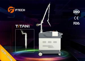 China 1-10Hz Q Switched Nd Yag Laser Tattoo Removal Machine With User Friendly Software on sale