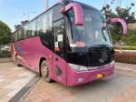 Used Tour Bus Model XMQ6113 51 Seats Steel Chassis Yuchai Engine Euro IV 270kw