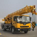 Yellow  XCT12L4 Main Boom Truck Crane  30.5m 12t Small  WP6.220E40