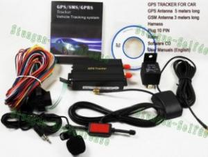 Quality TK103 Real Time Car gps and gsm based vehicle tracking system for sale