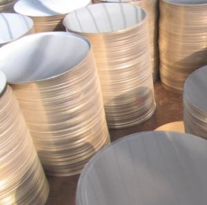 China Spinning Treatment Aluminium Discs Circles 1050 1100 3003 5052 For Utensils Cookware on sale