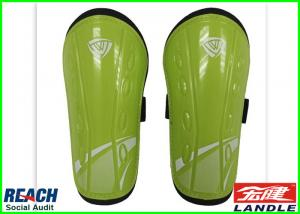 China Magnetic Carbon Ice Hockey Shin Pads Shinguards With Club Logo on sale