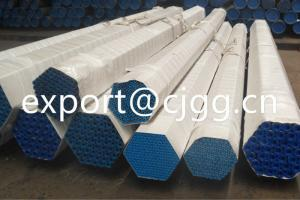China Thin Wall ASTM A192 Hot Rolled / Cold Drawn Seamless Tube With Beveled Ends on sale