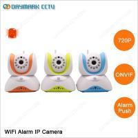 720p built-in PIR sensors alarm push wireless ip camera review on smartphone