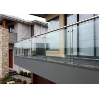 China Prima House Stainless Steel And Glass Balustrade Strong And Classical , CE Approved on sale