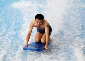 Quality Water park equipment Flowrider Water Ride , flow rider boards for sale