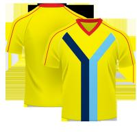 OEM soccer wear sublimation / soccer team wear football shirt maker soccer jersey