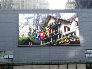 China DIP P10/P16 Outdoor Advertising Led Screens RGB Full Color High Brightness supplier