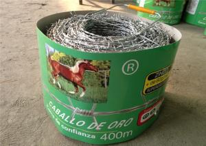 China Low Carbon Steel Barbed Wire Fence / Concertina Wire Fencing For Industrial on sale
