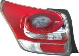 China Plastic Auto Tail Light Covers For Toyota EZ 11 LED Red Crystal Tail Lamp on sale
