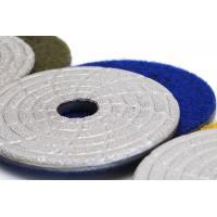 China Fast Change Diamond Polishing Pads , 4 Dry Concrete Polishing PadsExtremely Long Life on sale