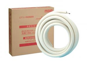 China Easy to Use Single Piece Copper Refrigeration Tubing Jis Standard Flame Resistance on sale