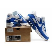 Air Max 90 Hyperfuse white and blue